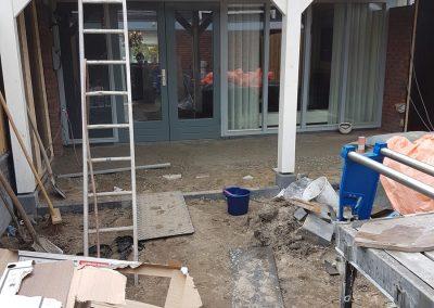 bouw veranda overkapping achtertuin Nunspeet