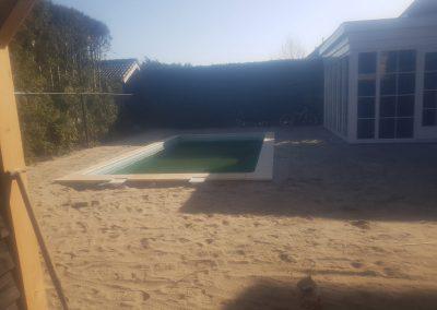 Straatwerk tegels Amersfoort zwembad achtertuin