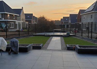 Tuinaanleg nieuwbouw Harderwijk