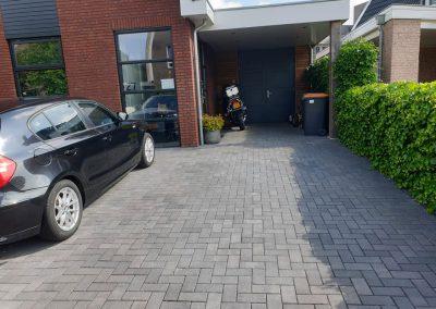 Aanleg straatwerk parkeerplaats Vaassen