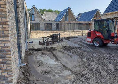 bestrating shovel nieuwbouw Apeldoorn