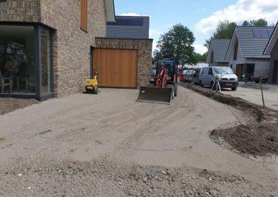 bestrating grondwerk nieuwbouw Apeldoorn