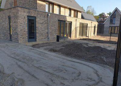 bestrating tuin nieuwbouw Apeldoorn